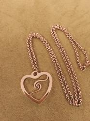 玫瑰金頸鏈 ∣ Rose Gold Necklace