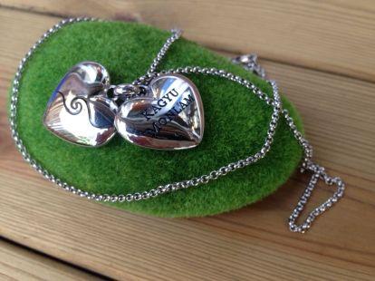 Heart Shape Pendant with Necklace ∣ 心型吊墜連項鏈