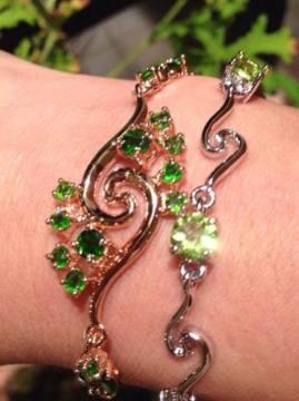 Silver Crystal Bracelets Series 1 ∣ 純銀天然晶石手鏈系列 1