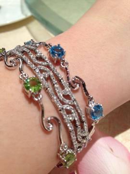 Silver Crystal Bracelets Series 2 ∣ 純銀天然晶石手鏈系列 2